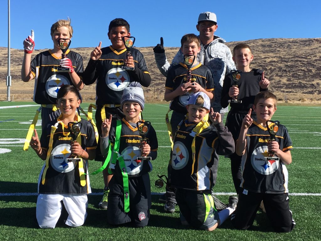Steelers - Fall 2018 Flag Tourney 3rd/4th Grade Champs
