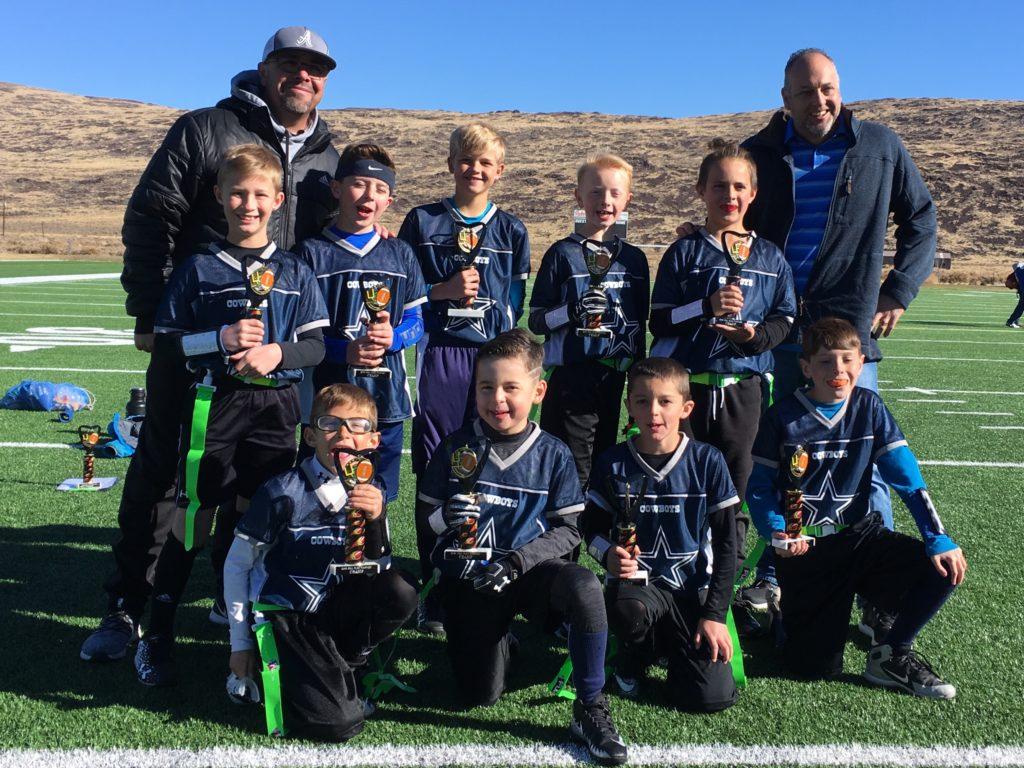 Cowboys - Fall 2018 Flag Tourney 5th/6th Grade Champs